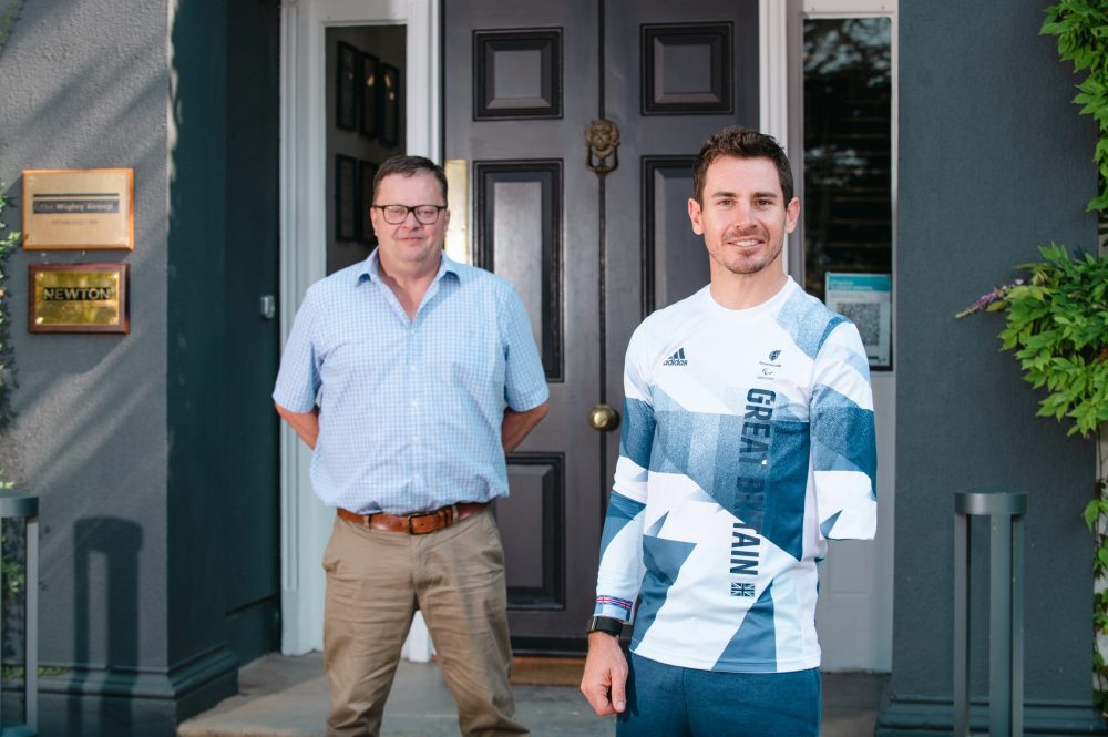 The Wigley Group sponsor Paralympic athlete Jaco van Gass