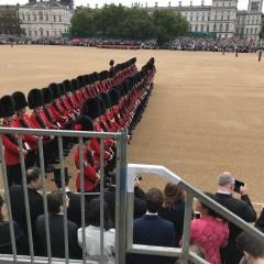 Grenadier Guards parading 1